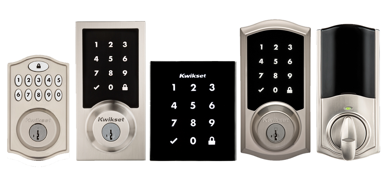 Looking For A Convenient And Easy To Use Smart Lock To Secure And Control  Your Front Door? You Can Now Choose From Five Different Kwikset Smart Locks  ...